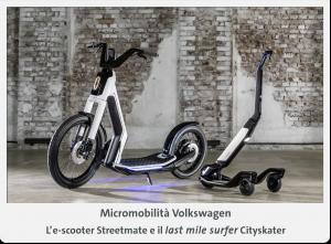 monopattino e scooter elettrici VW