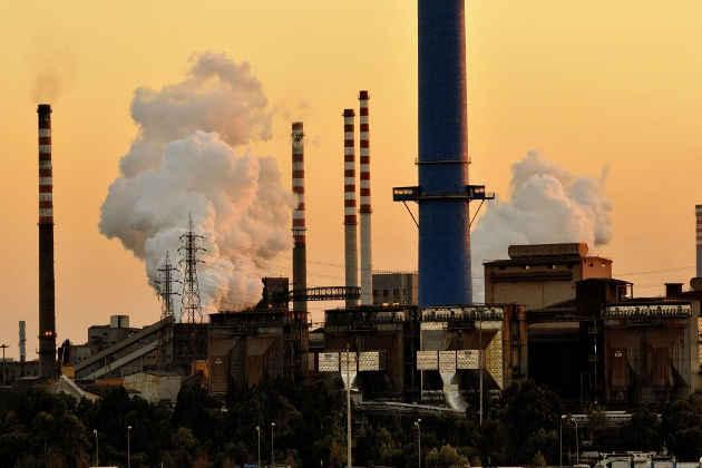 Un'immagine di uno degli stabilimenti dell'Ilva di Taranto