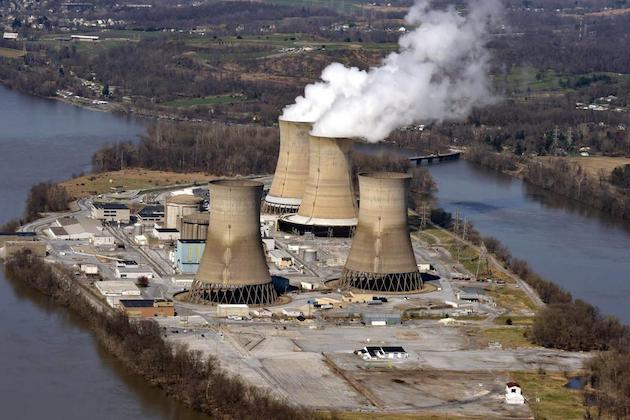 Immagine della centrale nucleare Three Mile Island