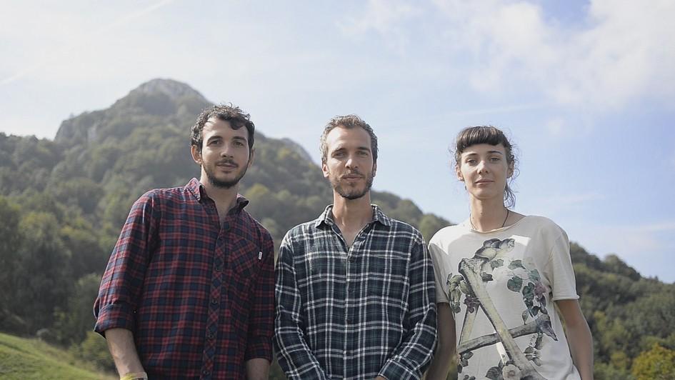 i tre ragazzi che rifaranno il Sentiero Italia