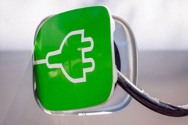 L'immagine di un'auto elettrica
