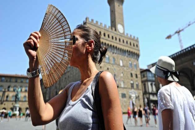 L'immagine di Bologna in una giornata estiva