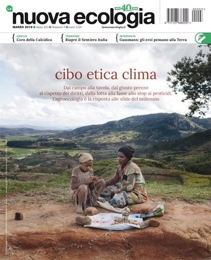 Copertina Nuova Ecologia marzo 2019