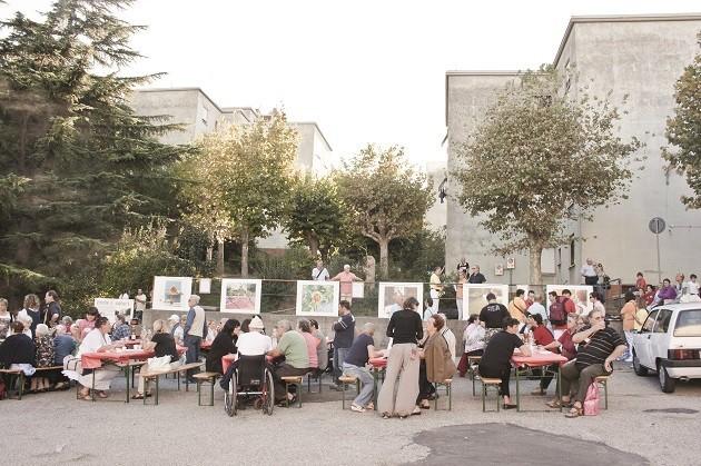 foto del progetto di cura a Trieste