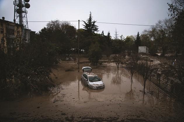 esondazione del torrente Baganza (foto di Alessandro Gandolfo)