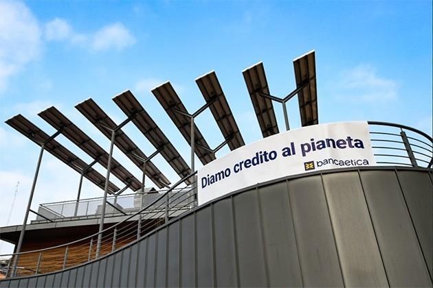 Banca Etica pannelli solari