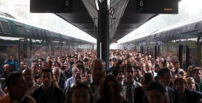 La massa di pendolari
