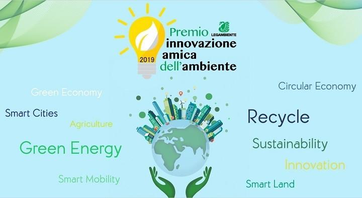 logo premio innovazione amica dell'ambiente