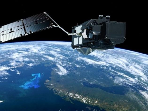 """un'immagine del satellite """"Sentinel 3B"""""""