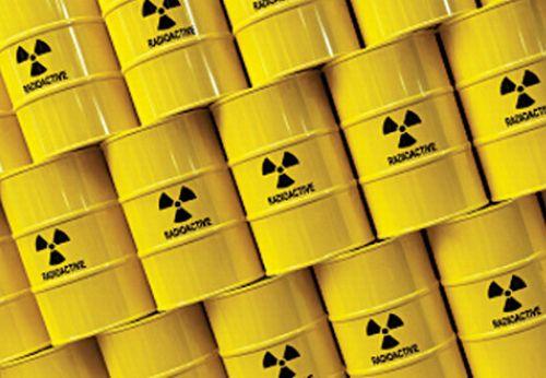 fusti scorie radioattive