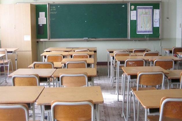 scuola aule vuote