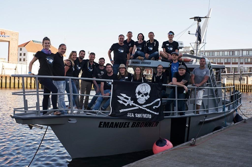 nave da pattugliamento MV Emanuel Bronner