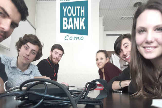Youth bank, i ragazzi che a Como hanno usufruito dei fondi