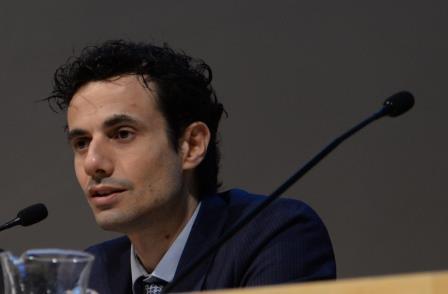 Davide Crippa al Forum QualEnergia (foto di Giovanni D'Ursi)