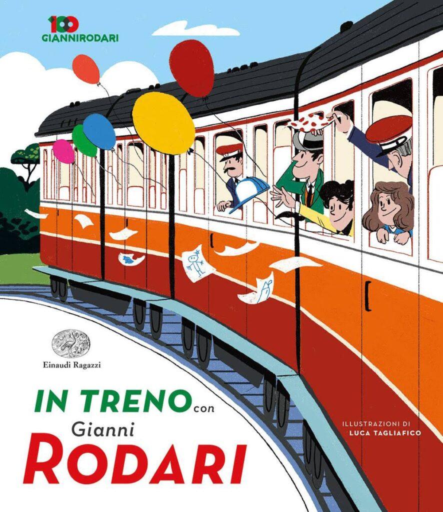 In treno con Gianni Rodari