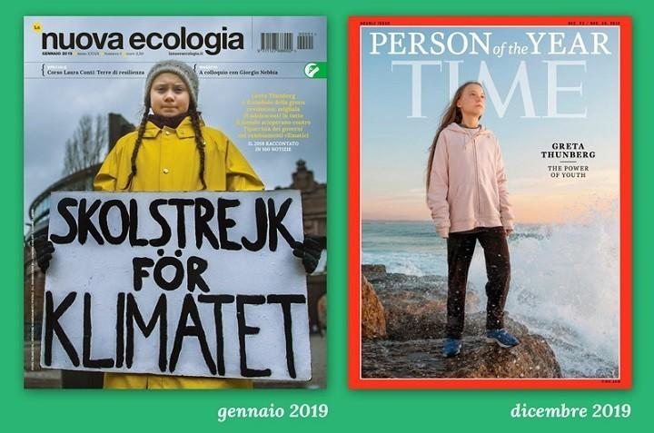 cover Greta Nuova Ecologia e Time