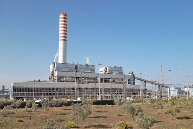 centrali carbone Civitavecchia