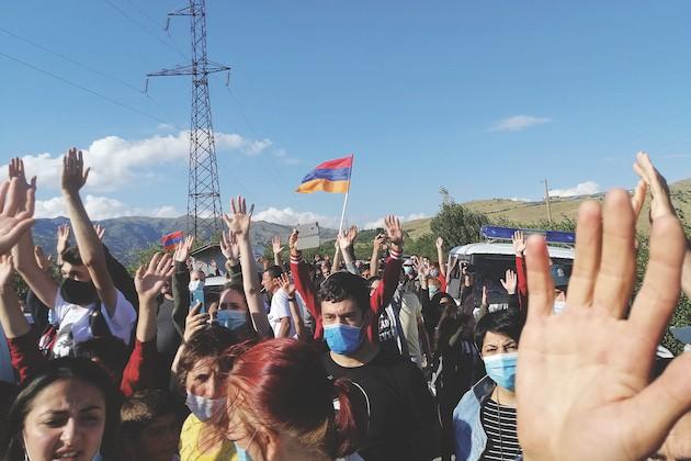 Amulsar, Armenia. Proteste contro la miniera d'oro