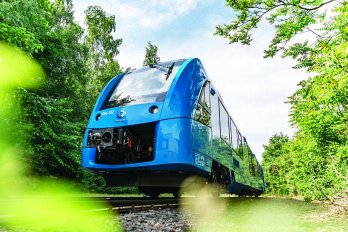 foto treno a Indrogeno