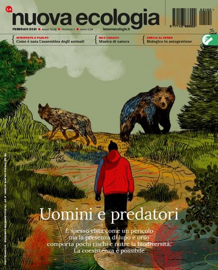 copertina Nuova Ecologia febbraio 2021