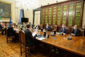 Le associazioni ambientaliste ricevute da Mario Draghi