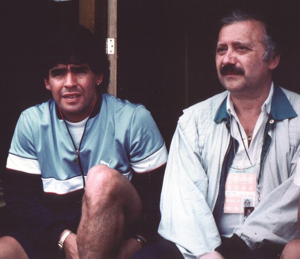 Gianni Minà con Diego Armando Maradona