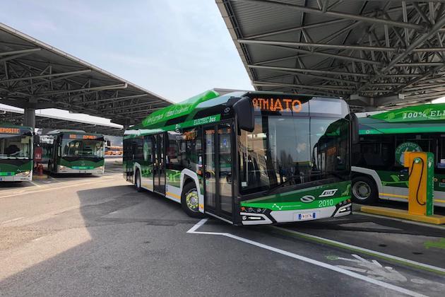 Milano si conferma capitale della mobilità sostenibile. Foto Atm