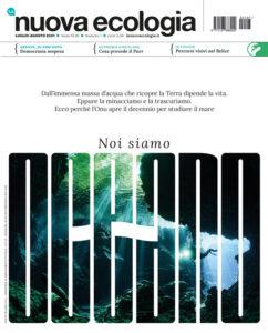 Copertina della Nuova Ecologia di luglio-agosto