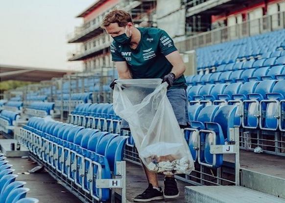 Vettel rifiuti