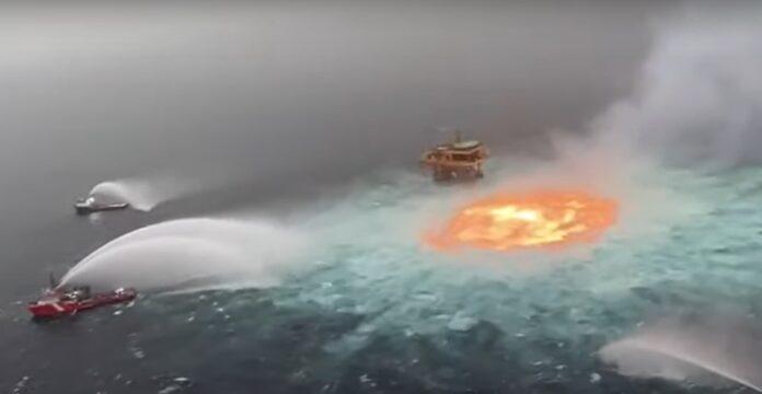 fiamme gasdotto Messico