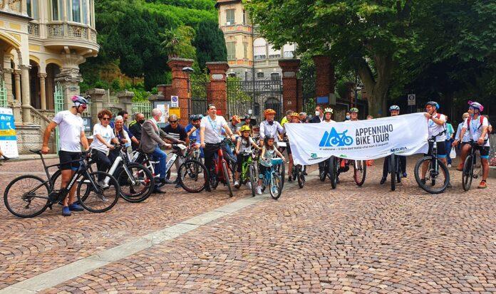 partenza Appennino bike tour