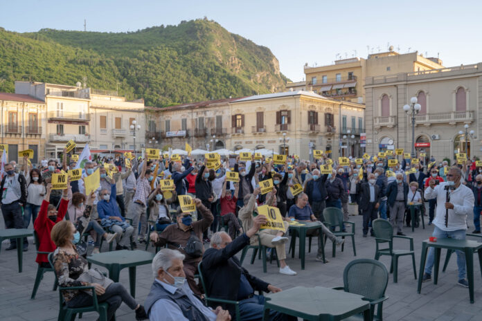 Manifestazione No discarica Melicuccà 22 maggio 2021_Palmi