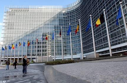 immagine della sede della Commissione europea